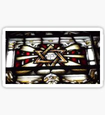 The Holy Name Stained Glass Window  Sticker