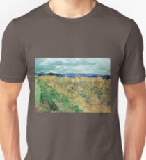 Vincent van Gogh Wheatfield with Cornflowers Unisex T-Shirt