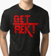 Rekt - ONE:Print Tri-blend T-Shirt