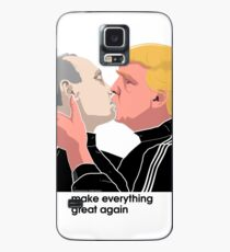 Trump kissing Putin Case/Skin for Samsung Galaxy