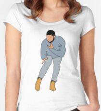 DRAKE'S HOTLINE BLING  Women's Fitted Scoop T-Shirt