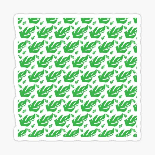 Monstera Deliciosa leaves Sticker