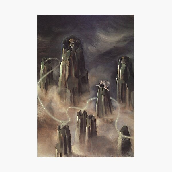 The Souls of the Mountain, by Remedios Varo Photographic Print