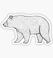 Grizzlybär Sticker