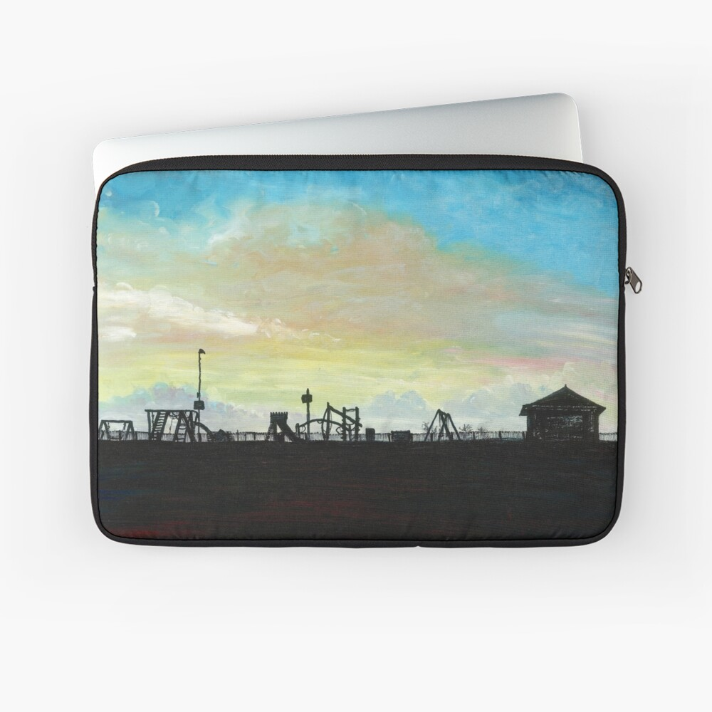 West Hill Playground at Dusk Laptop Sleeve