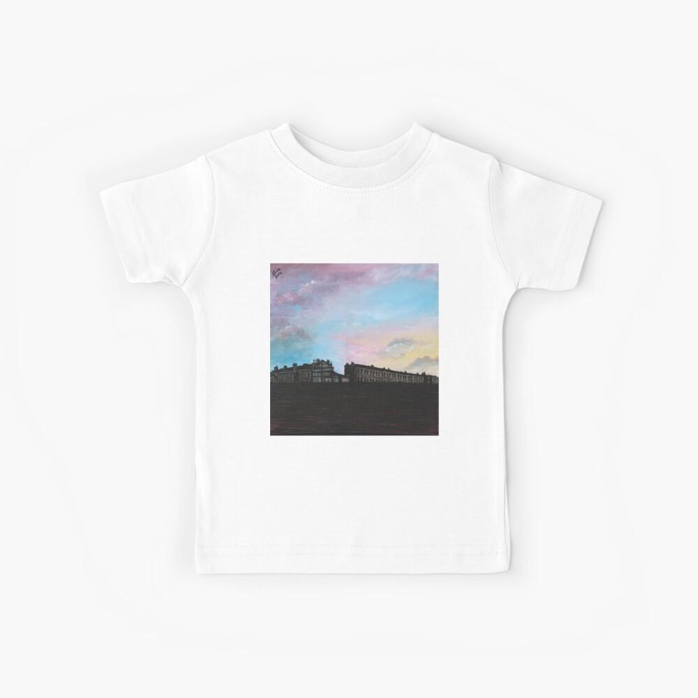 Priory Road at Dusk Kids T-Shirt