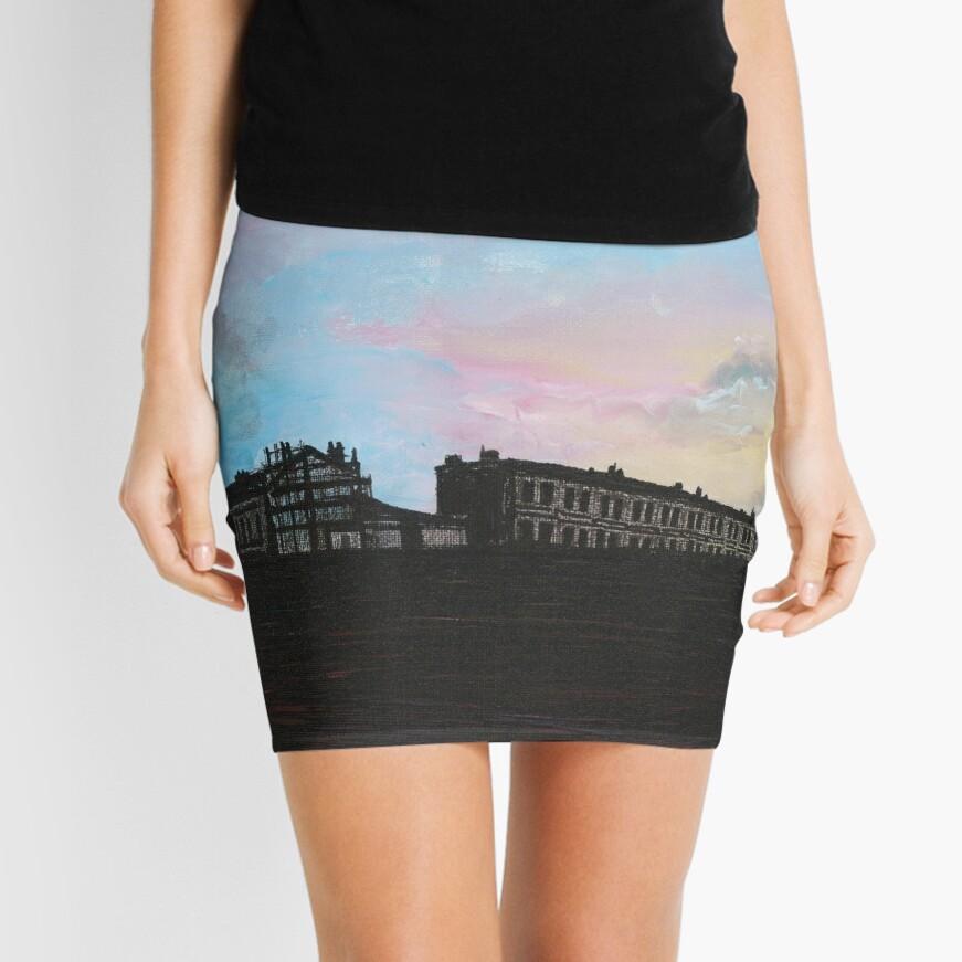 Priory Road at Dusk Mini Skirt