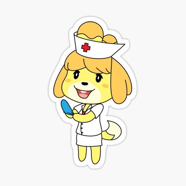 Nurse Isabelle Glossy Sticker