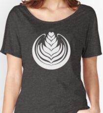 Latte Art Tulip Women's Relaxed Fit T-Shirt