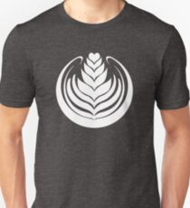 Latte Art Tulip Unisex T-Shirt