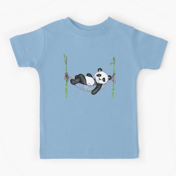 iPod Panda Kids T-Shirt