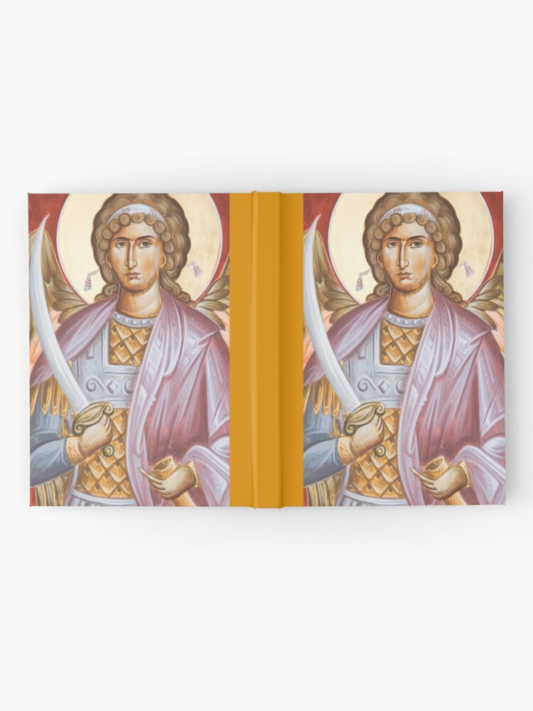 Alternate view of Archangel Michael Hardcover Journal