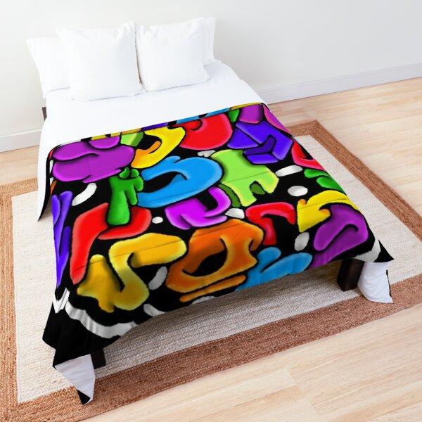 Bubbling Mess Comforter