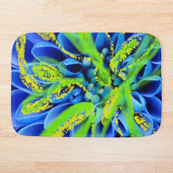 Blue Camomile  Bath Mat