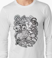 A Medley of Mushrooms Long Sleeve T-Shirt