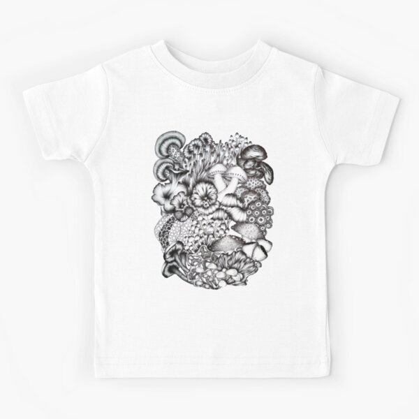 A Medley of Mushrooms Kids T-Shirt