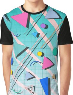 80s pop retro pattern 4 Graphic T-Shirt