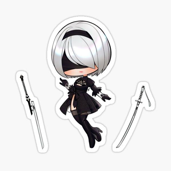 2ⓑ Chibi Sticker
