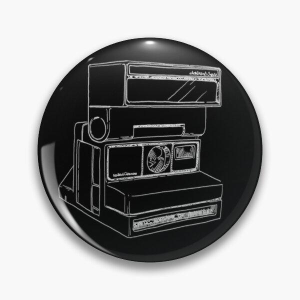 Life is Strange Polaroid Camera Sketch Symbol Logo Pin