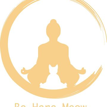 Yoga With Meow by thedogshirts