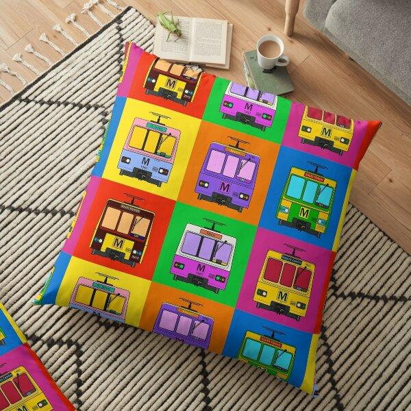 Metro Pop Art Floor Pillow