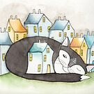 The Tuxedo House Cat by Ryan Conners