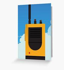 Firewatch- Walkie Talkie Greeting Card