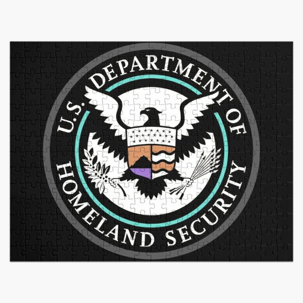 Emblem: United States Department of Homeland Security, Government department Jigsaw Puzzle
