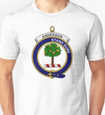 Anderson Clan Badge Unisex T-Shirt