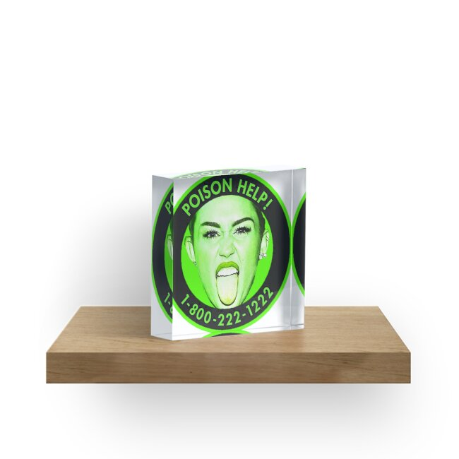 Miley cyrus mr yuk by thelittlelord