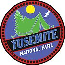 CAMPING YOSEMITE NATIONAL PARK TENT CAMP CALIFORNIA MOUNTAIN MOUNTAINS SUN by MyHandmadeSigns
