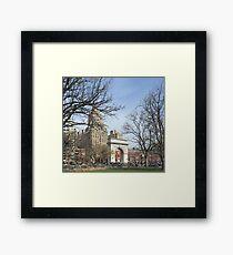 Washington Square Park, New York Framed Print