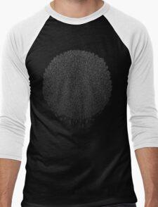Black Sphere Men's Baseball ¾ T-Shirt