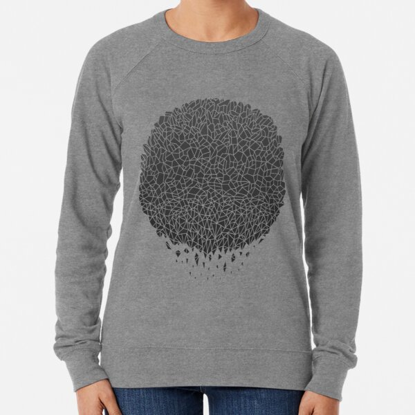 Black Sphere Lightweight Sweatshirt