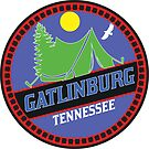 CAMPING GATLINBURG GREAT SMOKY MOUNTAINS NATIONAL PARK TENT CAMP TENNESSEE MOUNTAIN MOUNTAINS SUN by MyHandmadeSigns