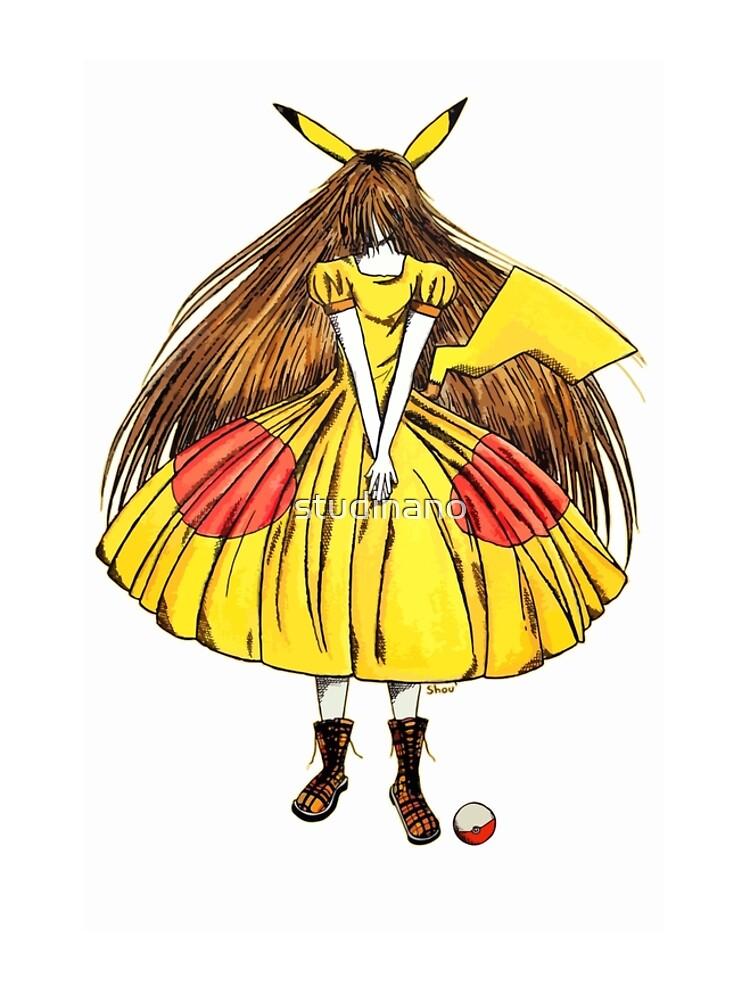 Lady Pikachu by studinano