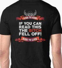 If You Can Read This Then The Bitch Fell Off -  Black Variant T-Shirt