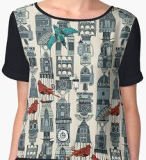 steampunk towers Women's Chiffon Top