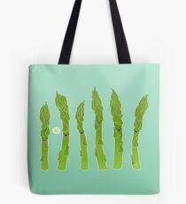 Asparagus say hi! Tote Bag