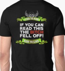 If You Can Read This Then The Bitch Fell Off -  Lime Variant T-Shirt