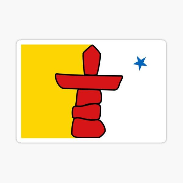 Nunavut Flag Sticker