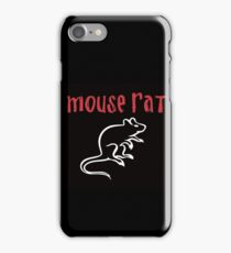 Mouse Rat- Parks and Rec iPhone Case/Skin