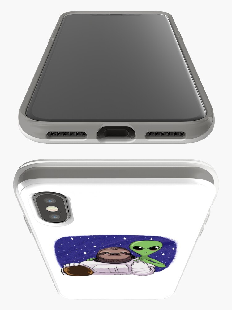 Alternate view of Space Love iPhone Case & Cover