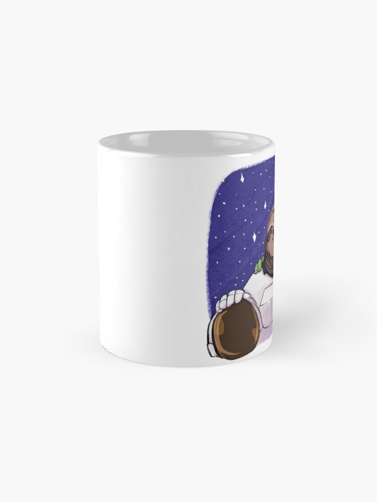 Alternate view of Space Love Mug