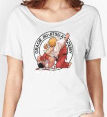 RYU VS KEN - GRACIE JIU-JITSU STYLE Women's Relaxed Fit T-Shirt
