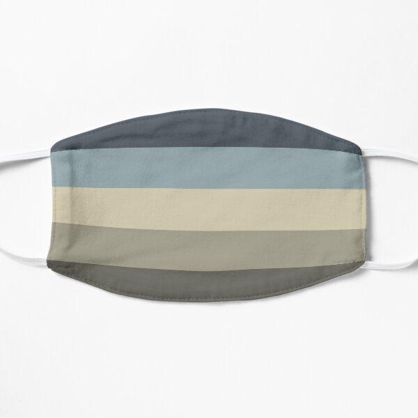 Cool Stone Tones Flat Mask