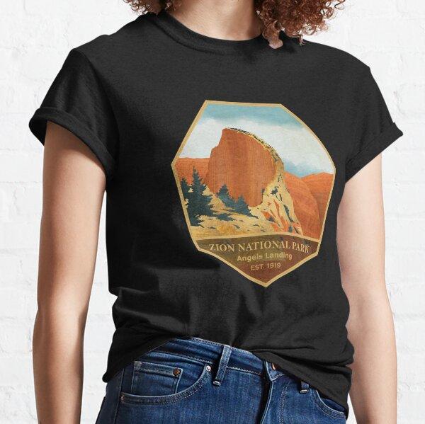 Zion National Park - Angels Landing - Iconic Landscape Classic T-Shirt