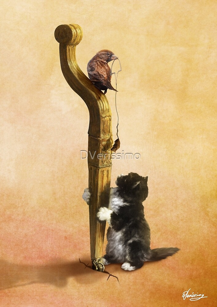 The Cat, the Bird and the Mouse by DVerissimo