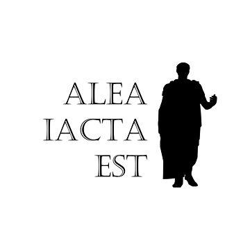 Caesar Alea Iacta Est by terminaltees