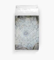 Ancient star mosaic Duvet Cover